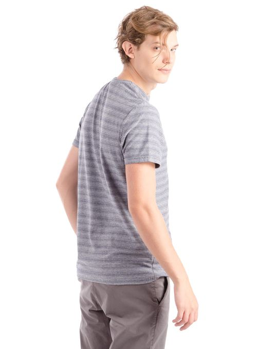 T-Shirt-Rayada-Melange