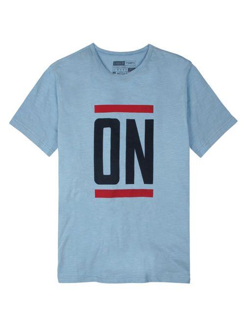 T-Shirt-Flame-Con-Estampa
