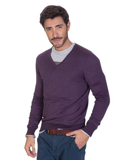 Sweater-Escote-V-Finito-Violeta