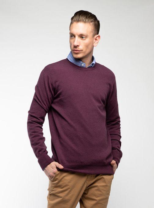 Sweater-Cuello-Redondo-Sin-Coderas-Bordo
