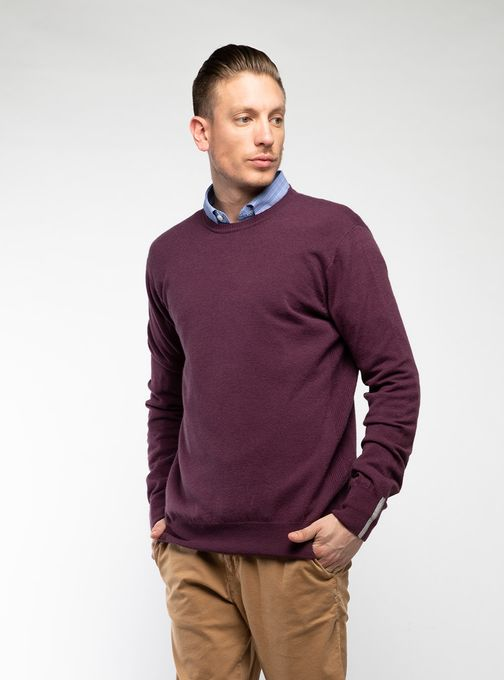 Sweater-Cuello-Redondo-Sin-Coderas-Bordo
