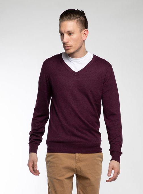 Sweater-Escote-V-Finito-Bordo