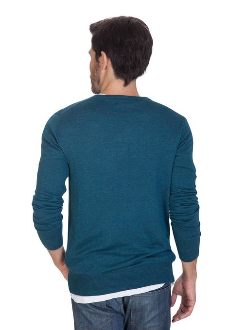 Sweater-Escote-V-Finito-Verde