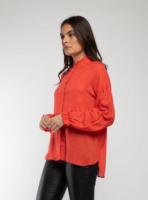 Camisa-Hibiscus-Rojo