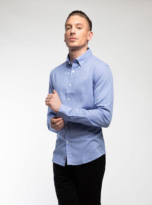 Camisa-Cuadro-Ml-S-Bolsillo-Cuadros