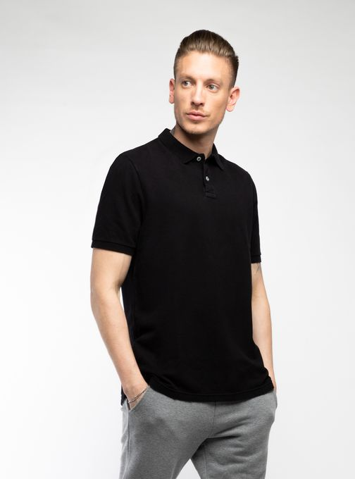 Polo-Pique-Sin-Logo-Regular-Fit
