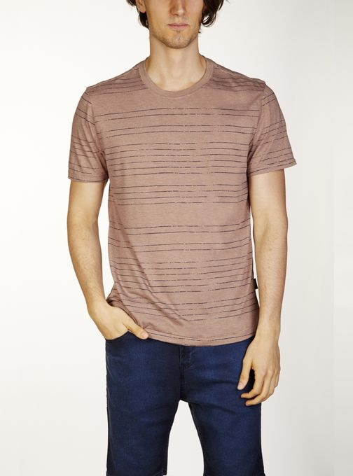 T-Shirt-Jersey-Rayas-Estampadas-Logo-En-Grifa