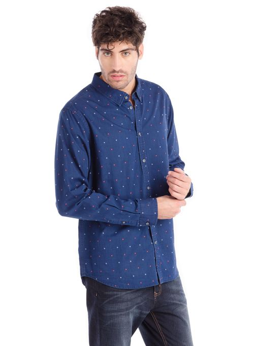 Camisa-Denim-Algodon-Azki-Dobby