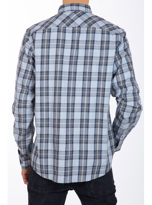 Camisa-Manga-Larga-A-Cuadros-Melange-Classic