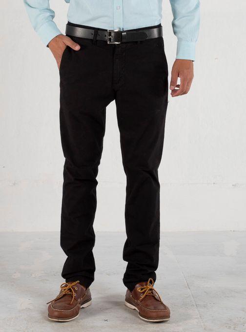 Pantalon-Denver-Poplin-Elastiz-Negro