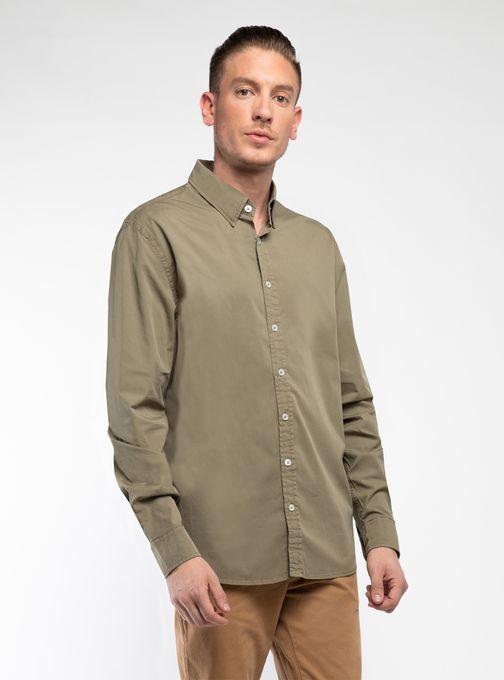 Camisa-Full-Color-Poplin-Verde