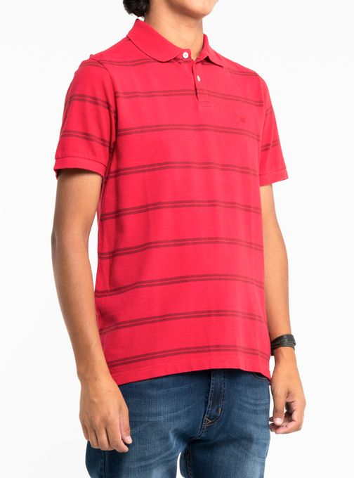 Polo-Pique-Stripes