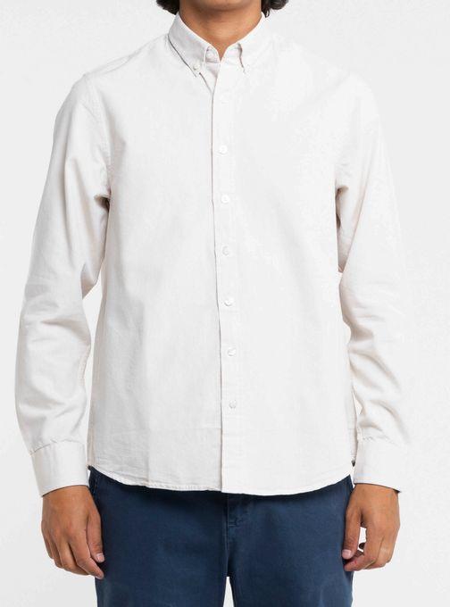 Camisa-Oxford-Manga-Larga-Con-Logo-Bordado