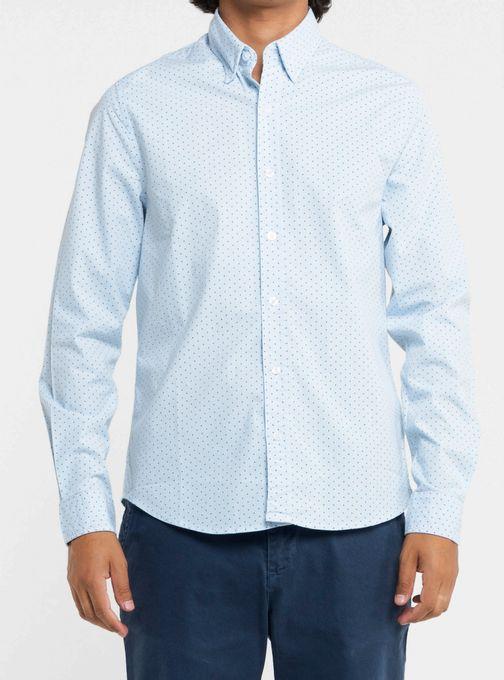 Camisa-Poplin-Estampada-Con-Elastano